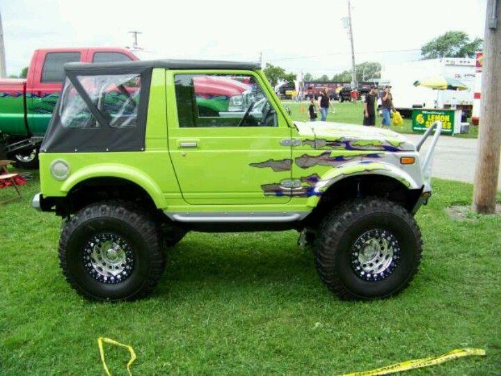 Lime Green Love The Color Suzuki Samurai Suzuki Jimny Suzuki