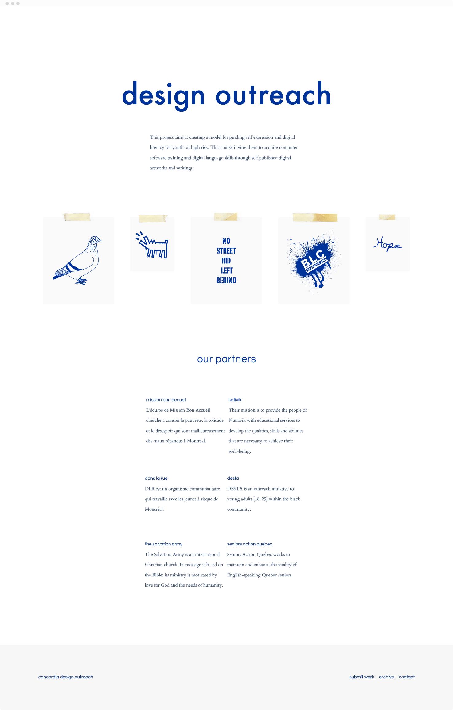 Blog Design for Design Outreach