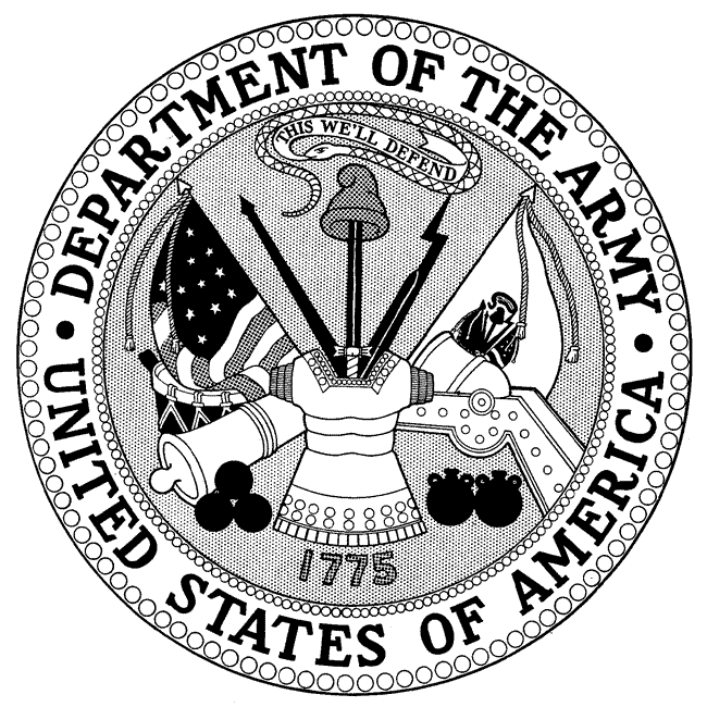 army drawing designs | department of the army seal, and department