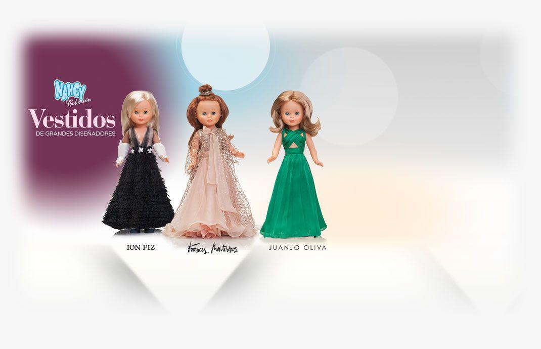 4fdd32e7526 Colección de vestidos para Nancy de grandes diseñadores
