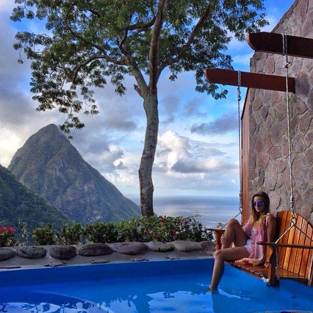 """Dame Traveler @juliahengel || @laderaresort || St. Lucia || #dametraveler"""