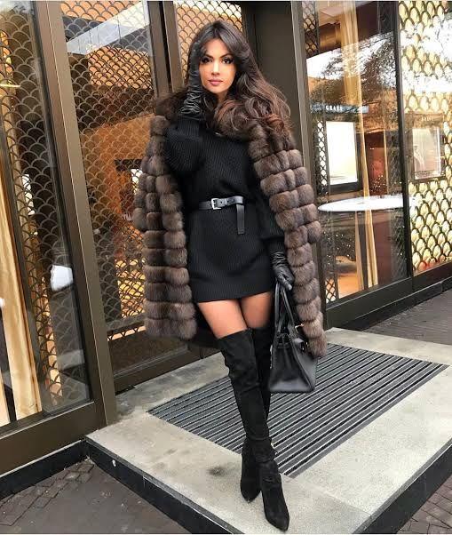 Outfits 'Glam Black' para iniciar el año con el pi