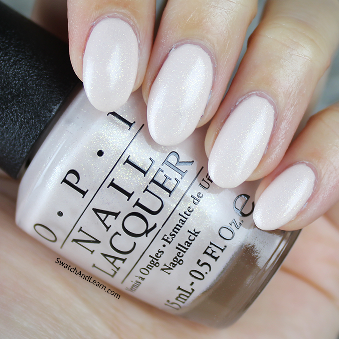 Nails get soft and sweet with OPI Breakfast at Tiffany\'s, which is ...