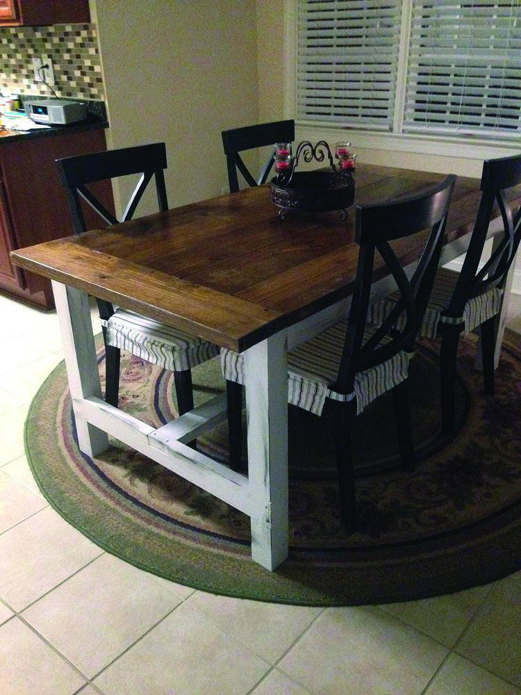 28++ Homemade farm table type