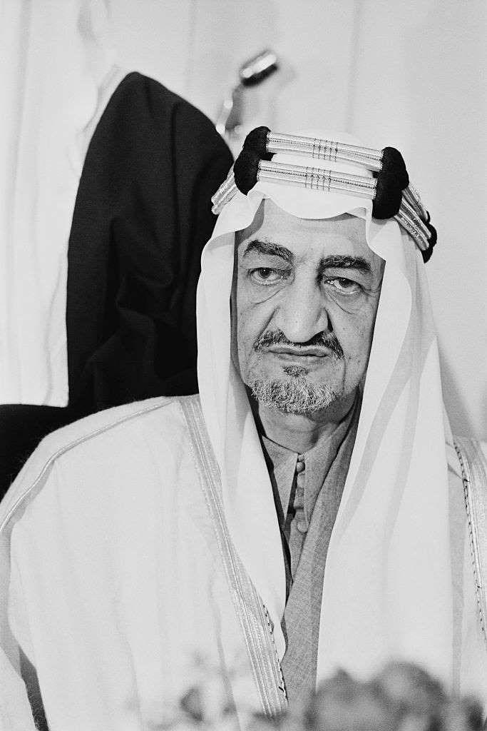 1972 السعودية تمتلك 20 من حصة أرامكو Pierre Manevy Express Hulton Archive Getty Images London Hotels Family Hotels London King Faisal