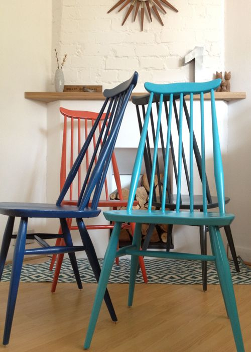 Project Of The Week 2 Ercol Goldsmith Dining Chairs