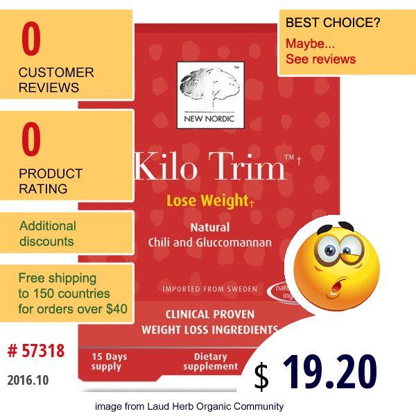 new nordic kilo trim