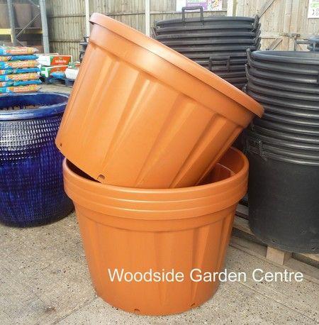 Extra Terracotta 230 ltr Plastic Pot Woodside Garden Centre