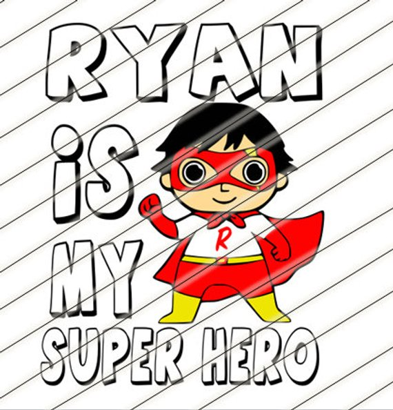 ryans world toy review you tube kids svg shirt cup