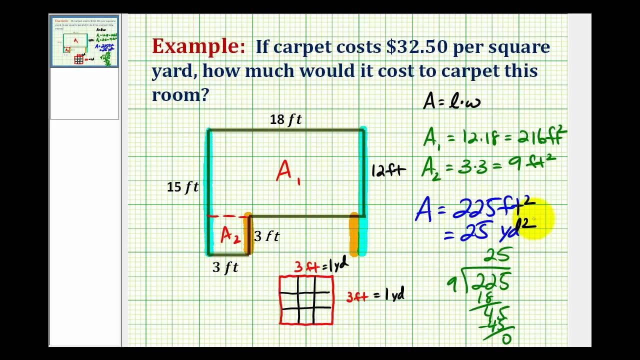 Pin By Alan Flooring On Square Yards And Math Whatever Carpet Square Math Formulas