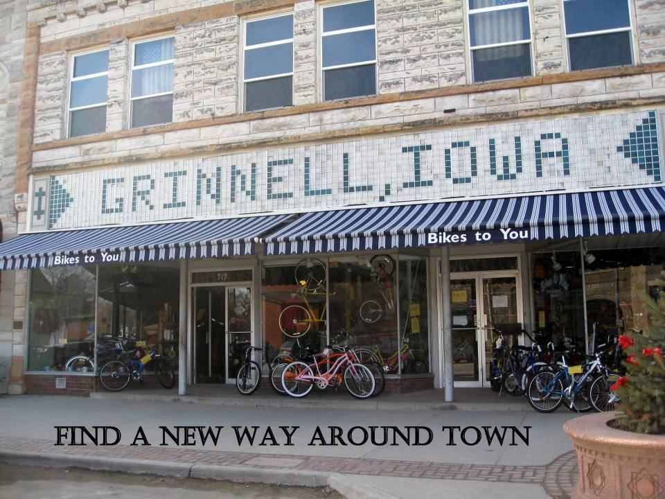 Bikes To You Is A Small Town Bike Shop In Grinnell Iowa We Are In A Small Town But We Are Not Small Minded Our Focus Is Customer S Iowa Travel