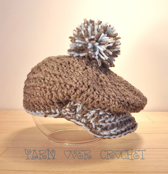 Tee Time  Golf Hat  All Sizes by YarnOverCrochet on Etsy, $20.00