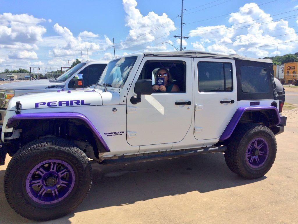Purplejeeplife Jku Jeepin Is The Life Purple Jeep Purple Jeep Dream Cars Jeep Purple Jeep Wrangler