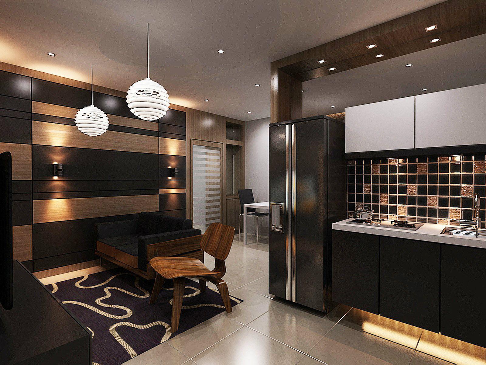 Nice Conception De La Maison Minimaliste: Home Interior Design In Johor Bahru