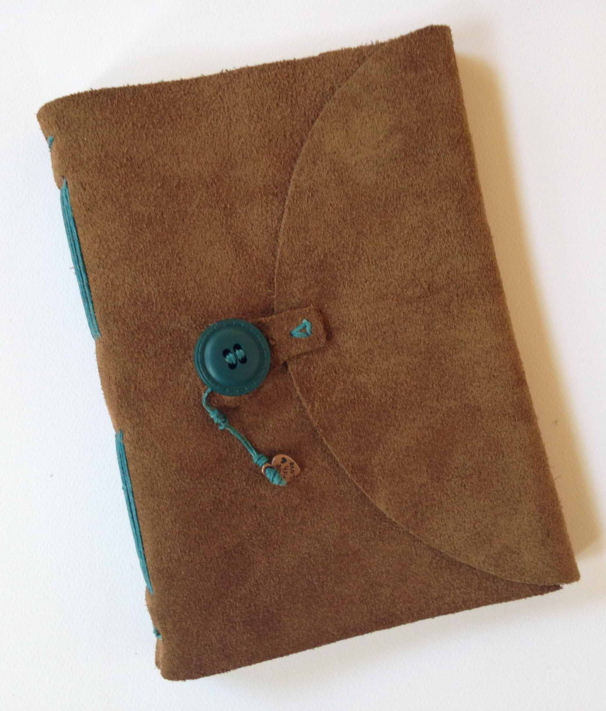 Suede Journal With Button Closure Cute Journals Handcraft My Pictures