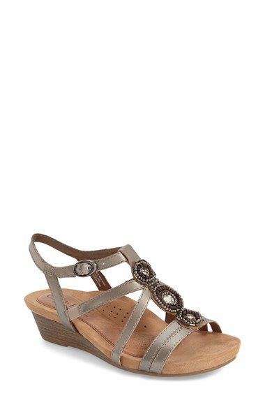5f186537e Cobb Hill  Hannah  Leather Sandal (Women)