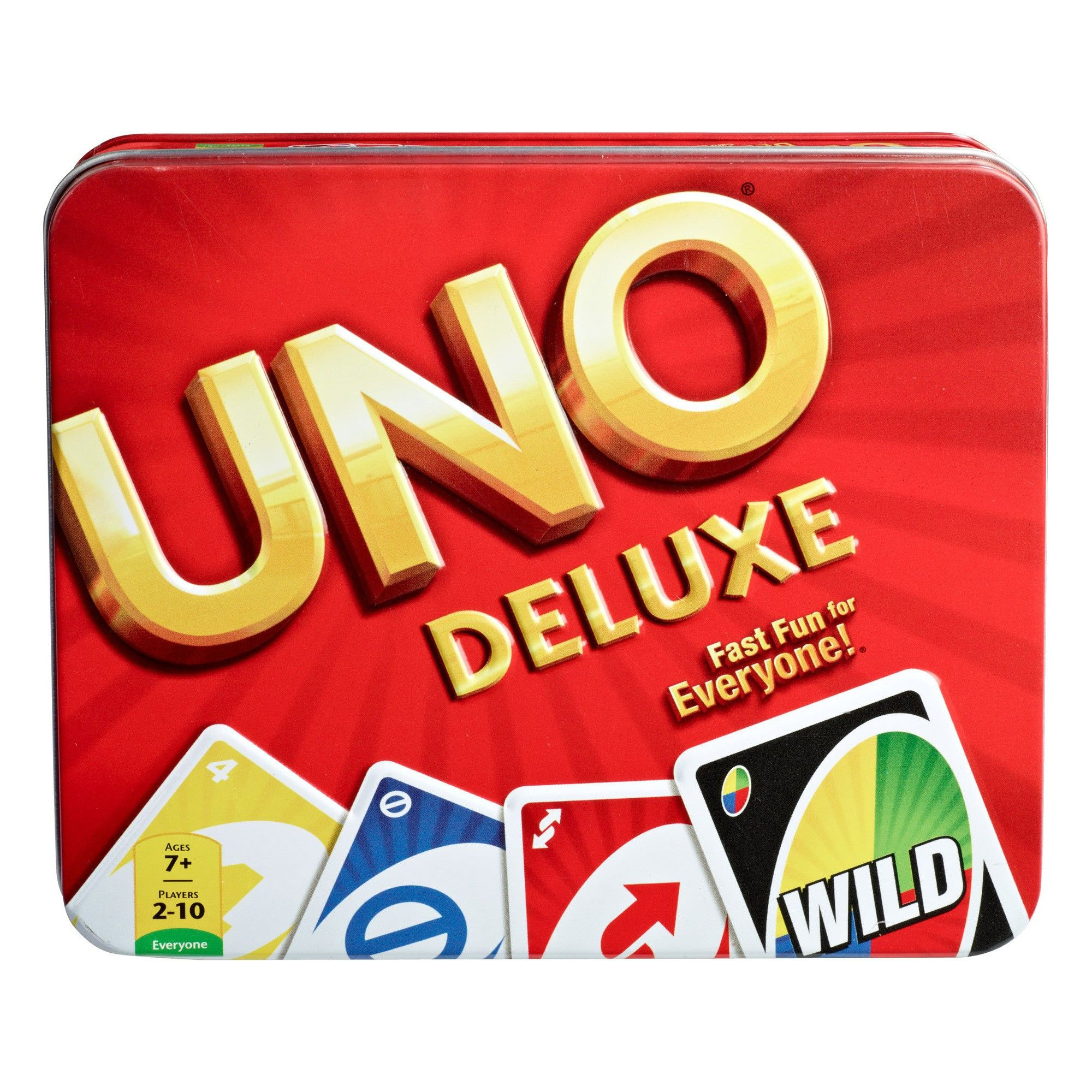 Uno Card Game Tin, Card Games (With images) Uno card