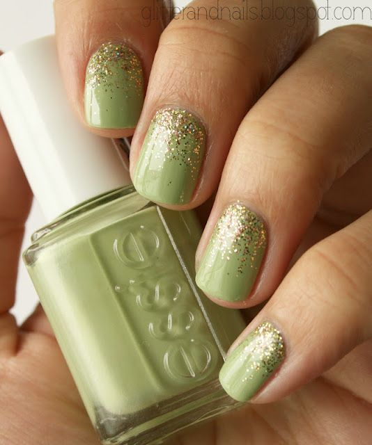 Glitter and Nails: Essie | nails & makeup. | Pinterest | Manicuras ...