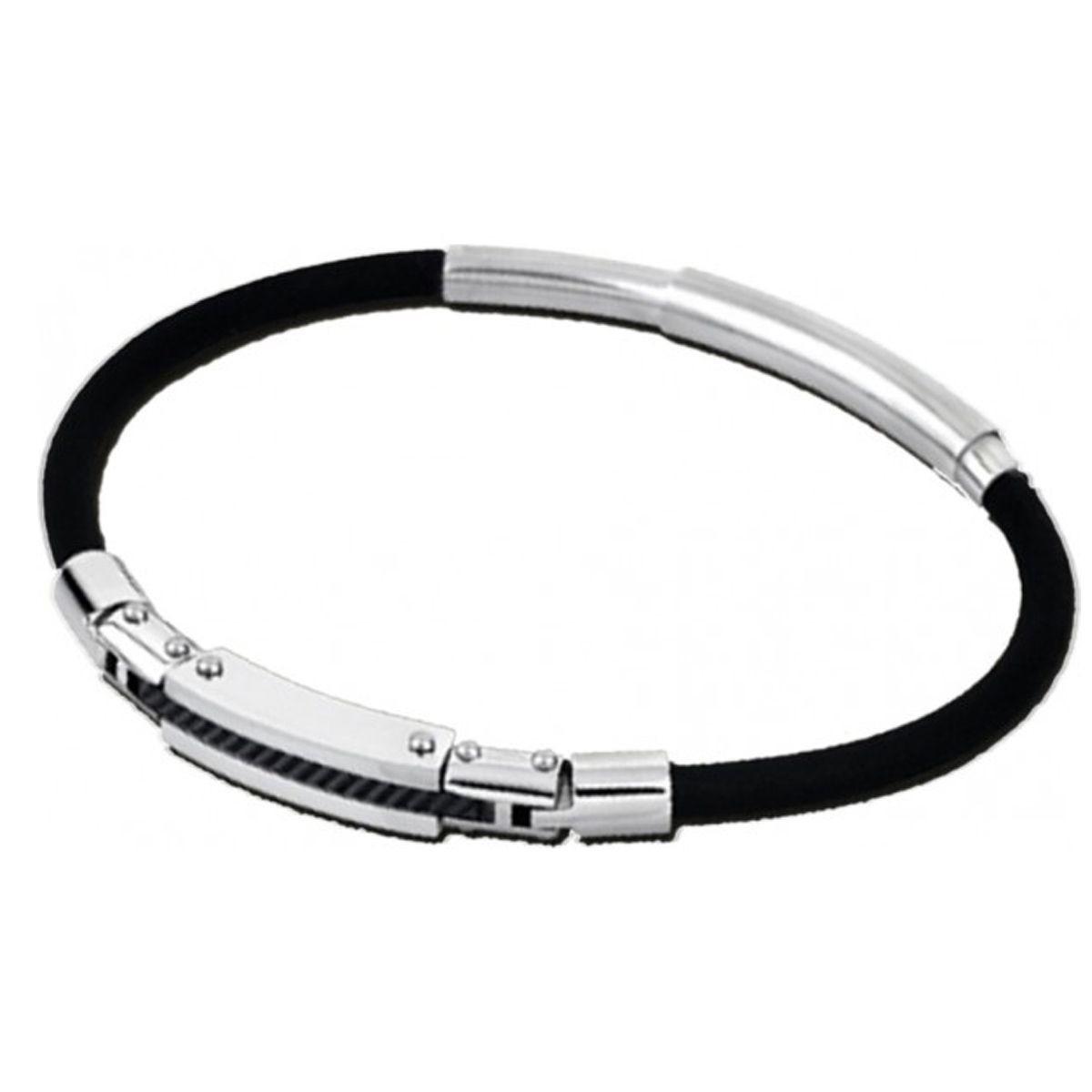 bracelet argent grande taille