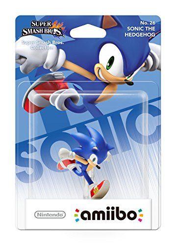 Nintendo Amiibo Super Smash Bros Sonic Nintendo Wii U 3ds Amiibo Sonic Nintendo Nintendo Amiibo