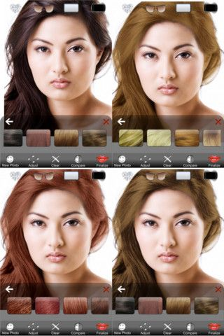 9 Best Hair Apps You Ve Got To Download Hairstyle App Change Hair Try On Hairstyles