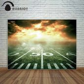 US 931 33 OFFAllenjoy American stadium Super Bowl intense competition yellow cloud backdrop for the photo child photographyin Background from Consumer Electronics on AliE...