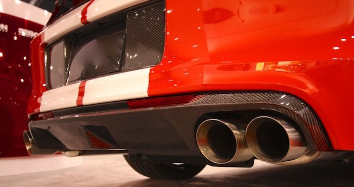 New Carbon Fiber Rear Diffuser For The 13 14 Gt500 Www Bangastang Com Mustang Parts Ford Mustang Mustang