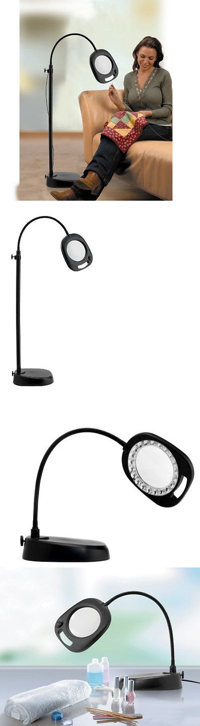 Magnifying Lamps: Magnifying Glass Floor Lamp Led For Reading Light ...