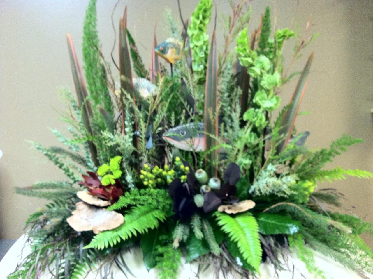 Unusual sympathy flowers brown floral making every arrangement unusual sympathy flowers brown floral making every arrangement something special izmirmasajfo Gallery