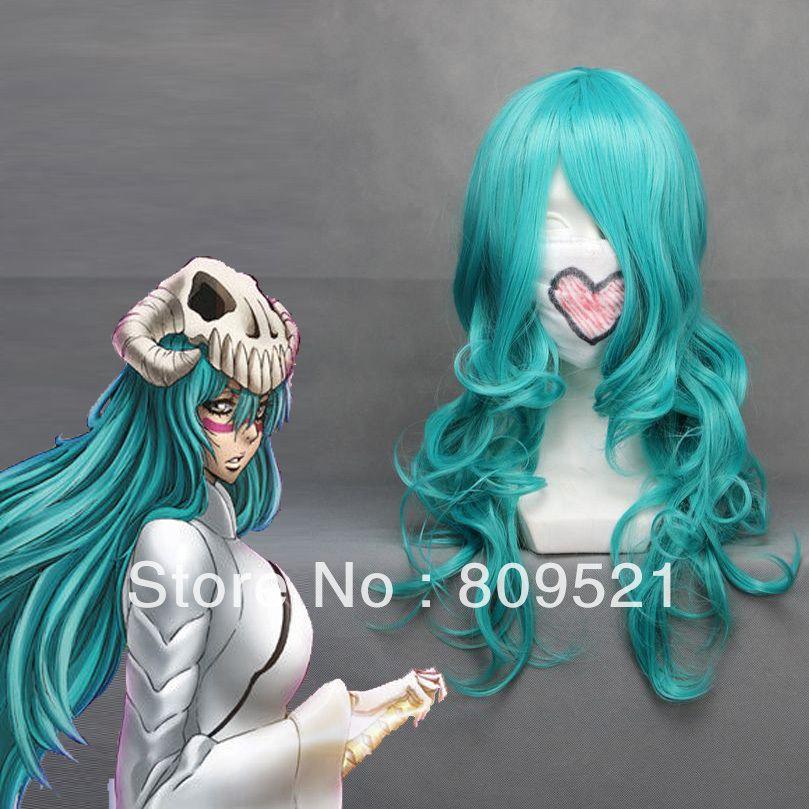 65cm X Long BLEACH-Neliel Tu Oderschvank Green Anime Cosplay wig COS-068A $25.99