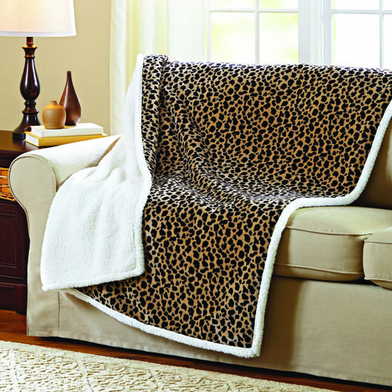 Last Minute Gift Better Homes And Gardens Royal Plush Sherpa Throw For The Home Pinterest