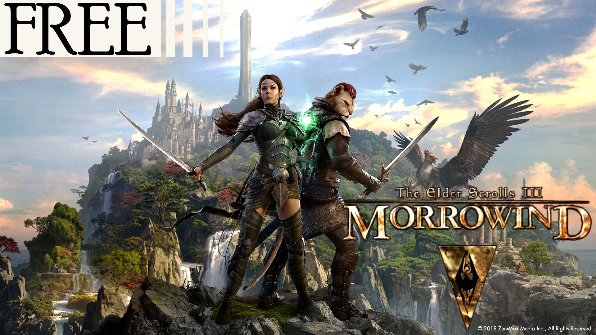 Open world singleplayer fantasy roleplaying game Elder