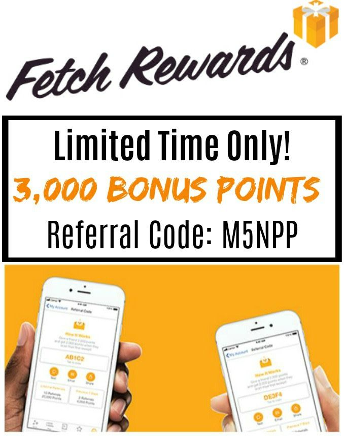 Fetch Rewards New Users Get 3,000 Bonus Points Money