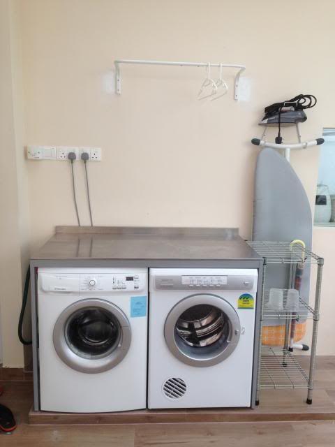Udden console from Ikea to fit washer and dryer Wet kitchen - udden küche ikea