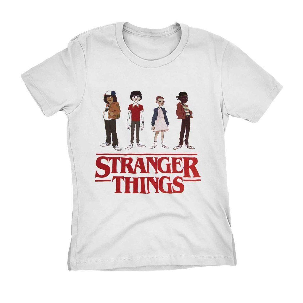 5729c6525031 camiseta stranger things serie netflix personagens camisa blusa ...