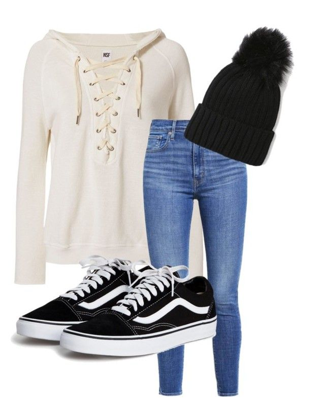 """""""45%"""" by ananeevees on Polyvore featuring moda, NSF e Levi's"""