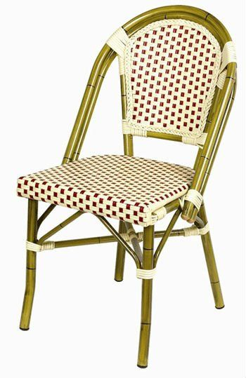 french rattan bistro chairs wooden card table and outdoor chair cafe buy product on alibaba com
