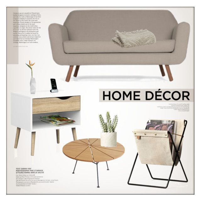 """""""Home Decor"""" by lovethesign-shop ❤ liked on Polyvore featuring interior, interiors, interior design, home, home decor, interior decorating, ferm LIVING, Vivaraise, Allstate Floral and livingroom"""