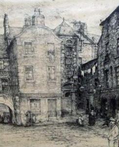 David Foggie - Street Scene In Dundee (Scotland)