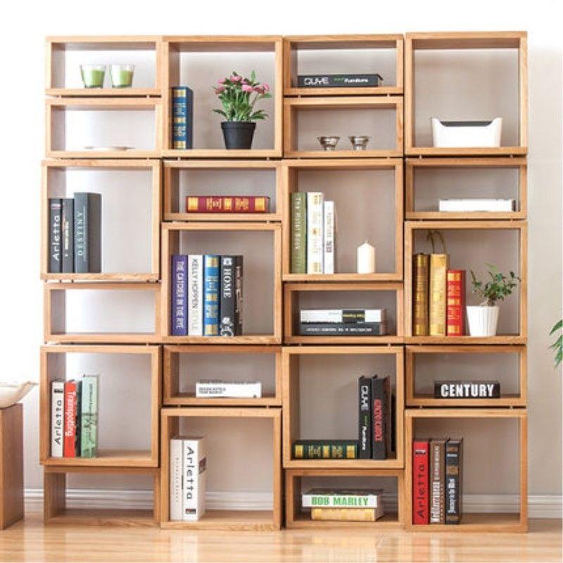 40 Diy Wooden Bookshelf Inspiration Bookshelves Diy Creative