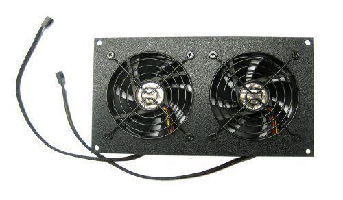 Cg Cabcool902 Dual 92mm Fan Cooling Kit W Preset Thermal