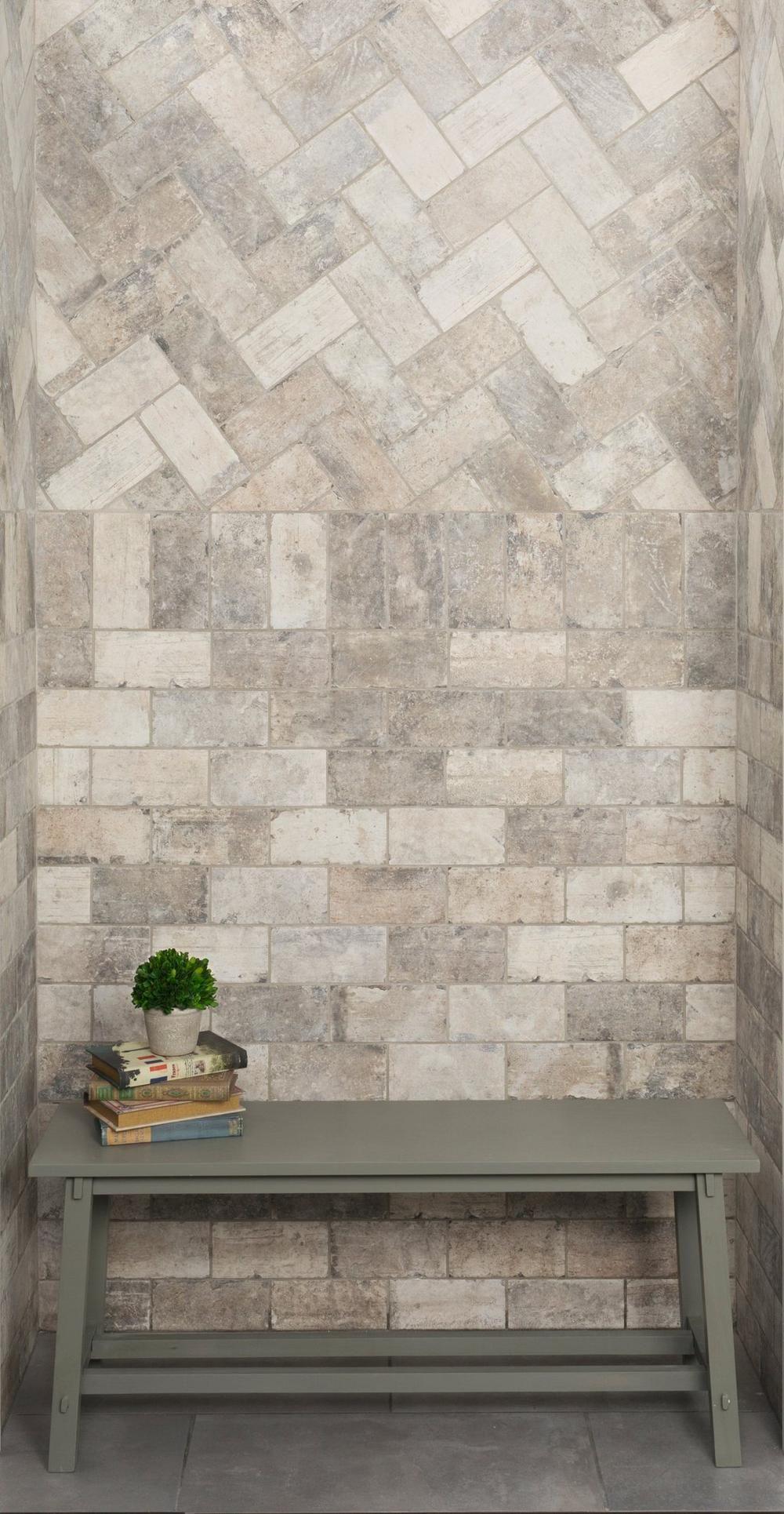 New York Soho Brick Look Porcelain Tile Floor Decor Brick Look Tile Brick Exterior House Brick Flooring