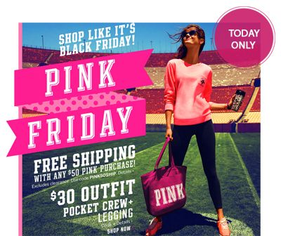 89e5f9bf33 Shop like it s Black Friday at select Victoria s Secret stores and online  to save big. Hot offers include  Seamless bralette for  5.00