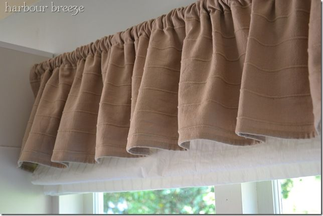 Diy Kitchen Curtains A Big Peek And A Question Burlap