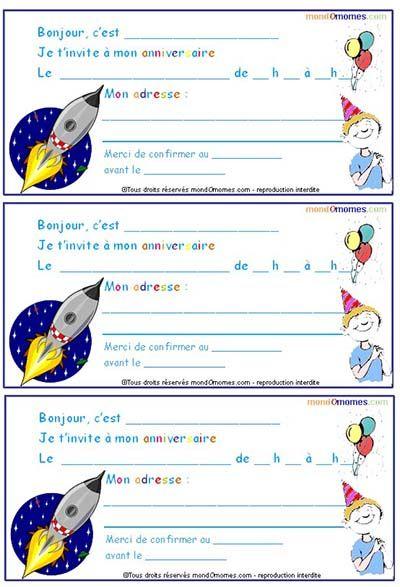 épinglé Par Saby Sur Espace Et Aliens Birthday Invitations Et