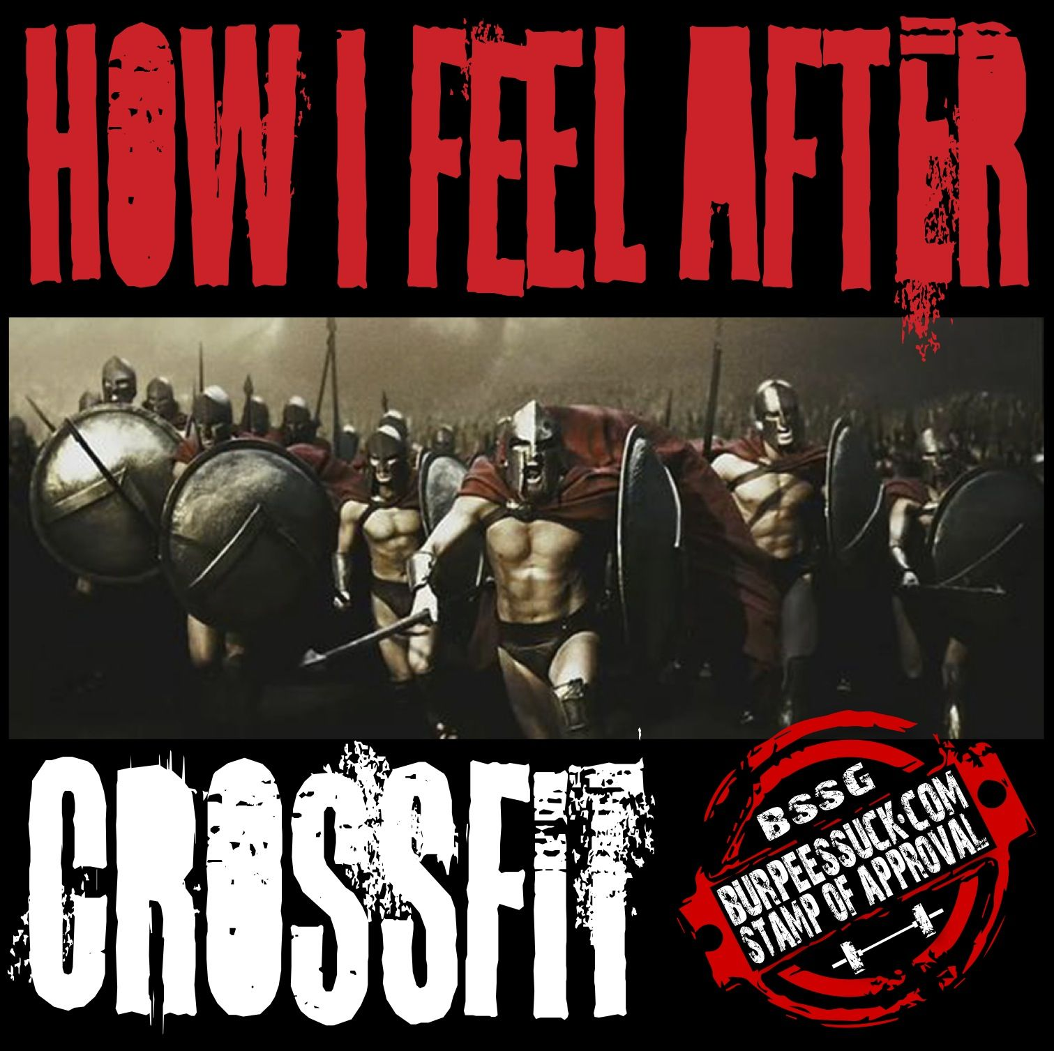 After Crossfit!