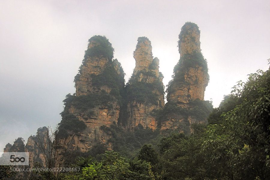 Zhangiajie (張家界 by Kut_Lam. Please Like http://fb.me/go4photos and Follow @go4fotos Thank You. :-)
