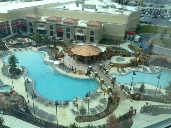 Winstar World Hotel New Pool Area View From Tower