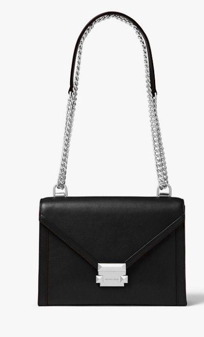 050d0915005b0 MICHAEL KORS Whitney Large Leather Convertible Shoulder Bag