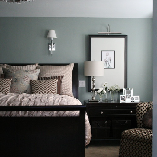 Bedroom Design For Teenager White Bedroom Colour Ideas Duck Egg Blue Bedroom Master Bedroom Interior Brown: Benjamin Moore Beach Glass